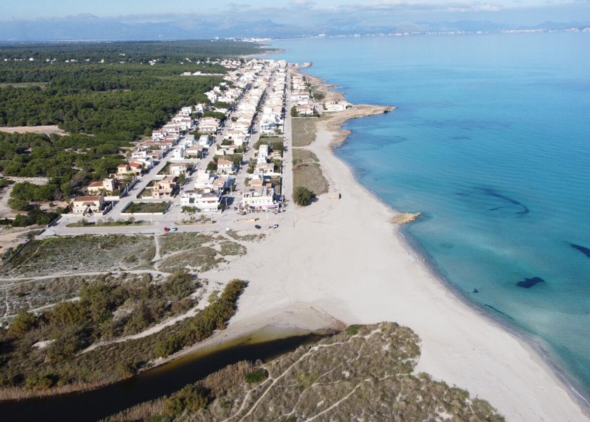 Aerial view of Son Serra de Marina